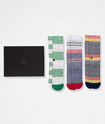 Stance Butter Blend 3 Pack Crew Socks