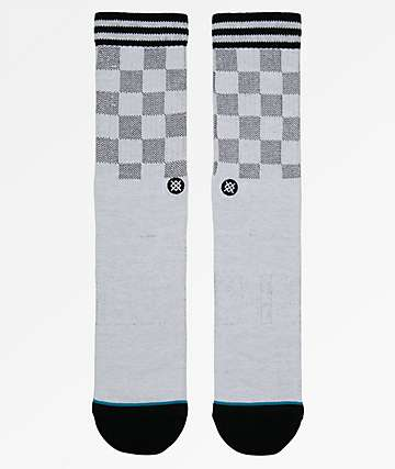 Stance Caged White Crew Socks