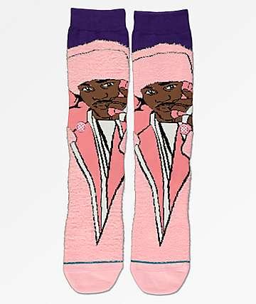Stance Cam'ron Pink Crew Socks