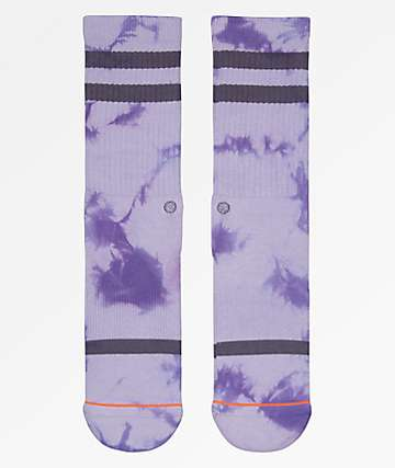Stance Classic Uncommon Purple Crew Socks