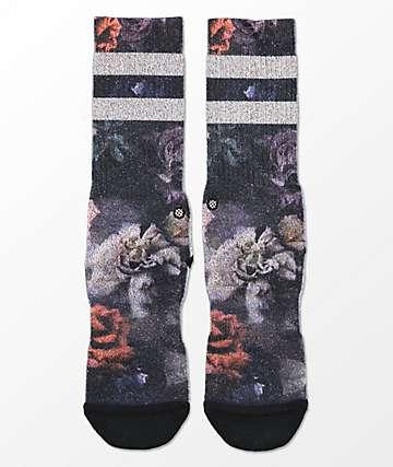 Stance Dark Blooms Classic Crew Socks