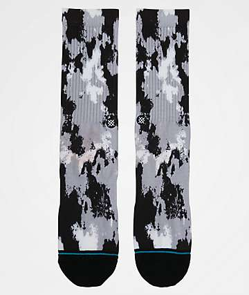 Stance Dazed Black & Grey Crew Socks