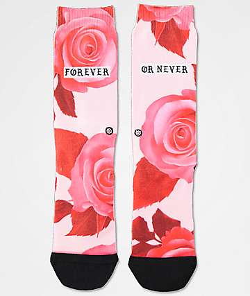 Stance Dedication Pink Tomboy Lite Crew Socks