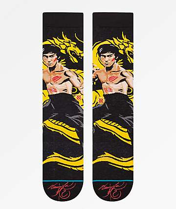 Stance Dragon Black Crew Socks