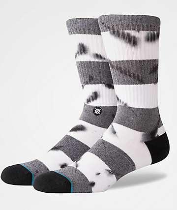 Stance Emmer Black & White Crew Socks