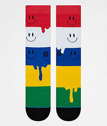 Stance Facemelt Crew Socks
