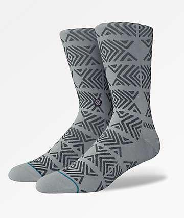 Stance Fait Grey Crew Socks