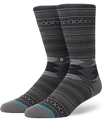 Stance Guadalupe Charcoal Crew Socks