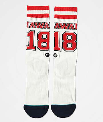 Stance Hawaii Jersey Crew Socks