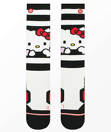 Stance Hello Kitty White Snowboard Socks