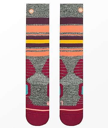 Stance Hot Creek Wine Snowboard Socks