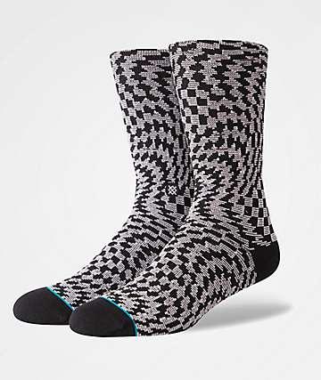 Stance Hysteria Black Crew Socks