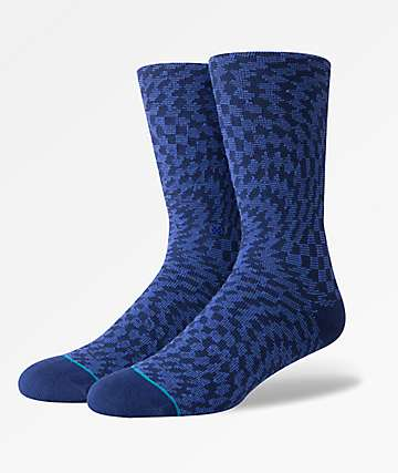 Stance Hysteria Navy Crew Socks