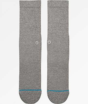 Stance Icon Grey Crew Socks