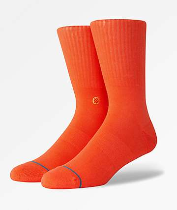 Stance Icon Royal Red Crew Socks