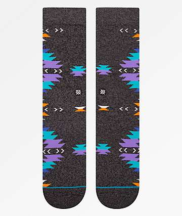 Stance Jacinto Heather Grey Crew Socks