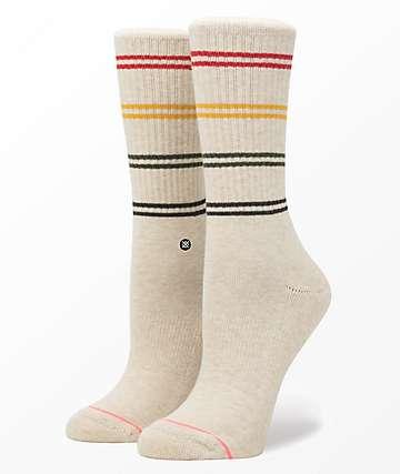 Stance Jah Oatmeal Classic Crew Socks