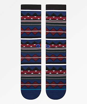 Stance Kern Blue Crew Socks