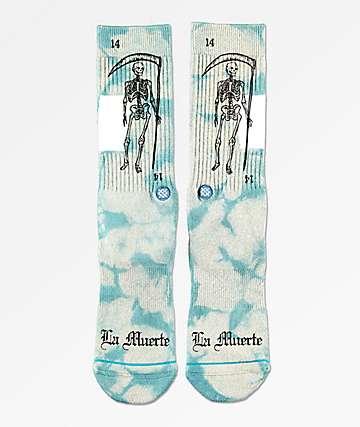 Stance La Muerte Grey Crew Socks