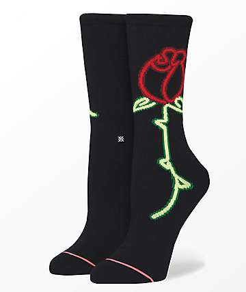 Stance Martinez Black Crew Socks