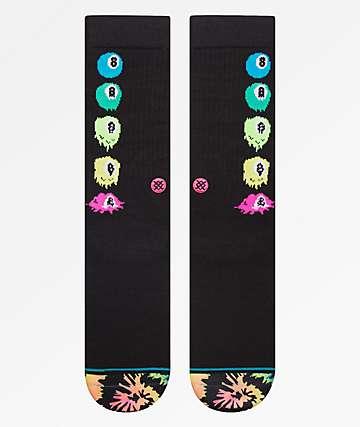 Stance Melter Black Crew Socks