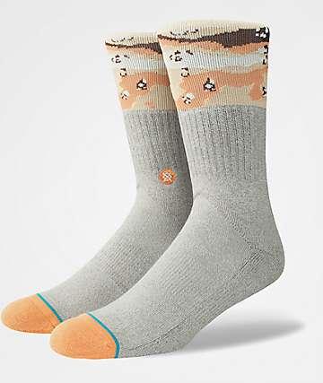 Stance Mojave Grey Crew Socks