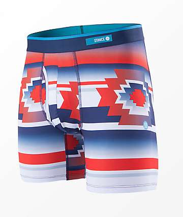 Stance Neo Native Red, White & Blue Boxer Briefs