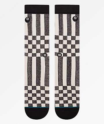 Stance Oso Black & White Crew Socks