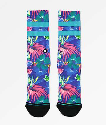 Stance Pau Blue Crew Socks