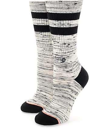 Stance Plain Jane Black Crew Socks