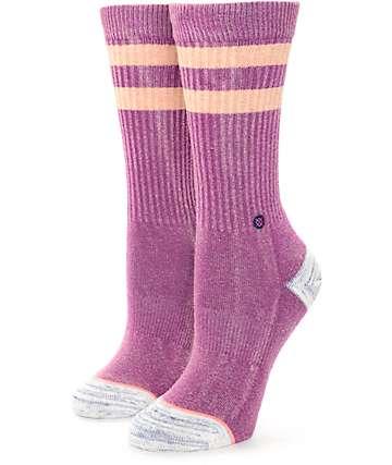 Stance Plain Jane Peach Crew Socks