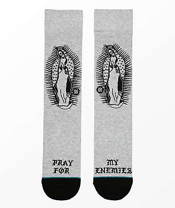 Stance Pray For Enemies calcetines grises