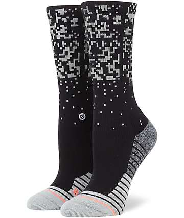 Stance Rapido Black & Grey Crew Socks