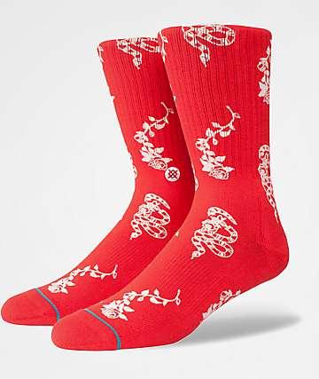Stance Rossa Red Crew Socks