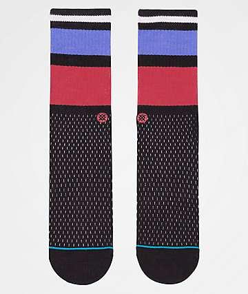 Stance Rucker Black Crew Socks