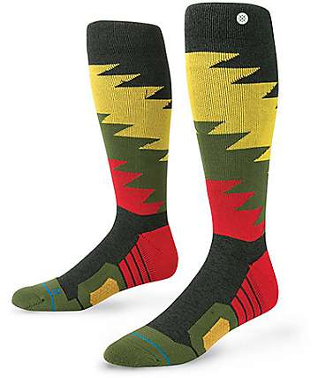Stance Safety Meeting Rasta Snow Socks