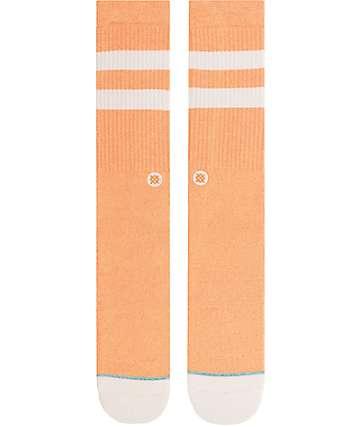 Stance Salty Orange Crew Socks