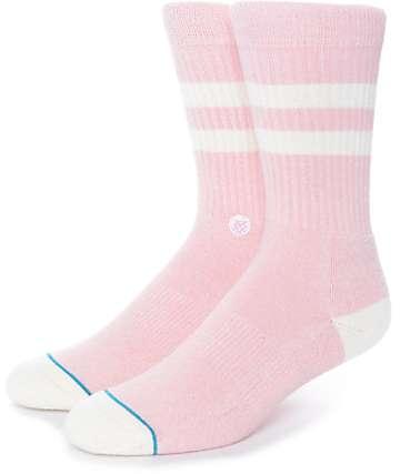Stance Salty Pink Crew Socks