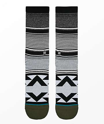 Stance San Blas Black Crew Socks