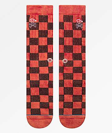 Stance Santarchy Red Crew Socks