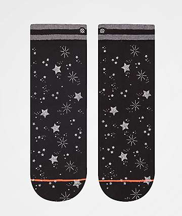 Stance Shine Time Black Ankle Socks