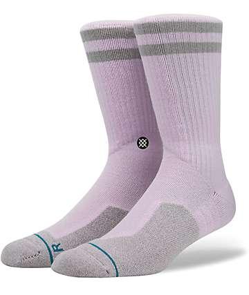 Stance Skate Fusion Banks Pink Crew Socks