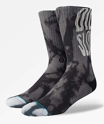 Stance Slow Black Crew Socks