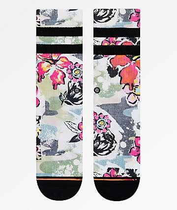 Stance Soul Flower Crew Socks