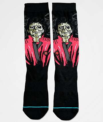 Stance Thriller Black Crew Socks