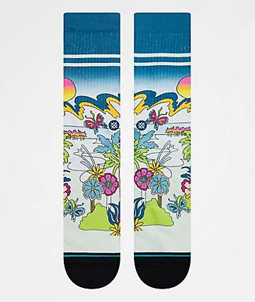 Stance Total Paradise Crew Socks