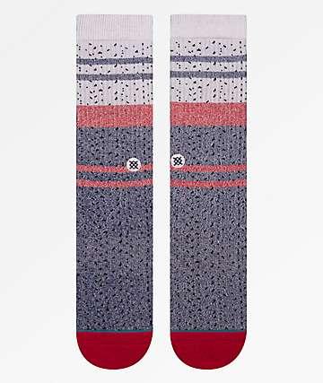 Stance Trickle Blue & Red Crew Socks