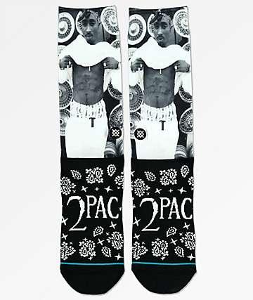 Stance Tupac Bandana V2 Crew Socks