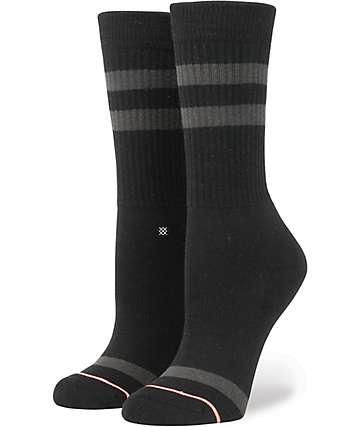 Stance Uncommon Black Classic Crew Socks