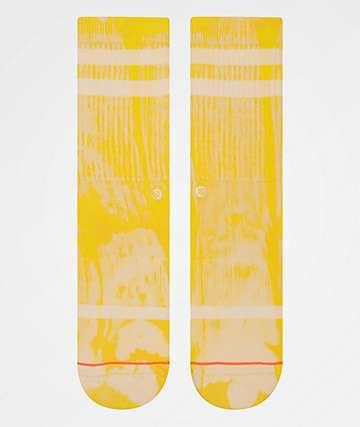 Stance Uncommon Classic Yellow Crew Socks